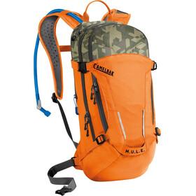 CamelBak M.U.L.E. Hydration Pack 9l+3l russet orange/camelflage